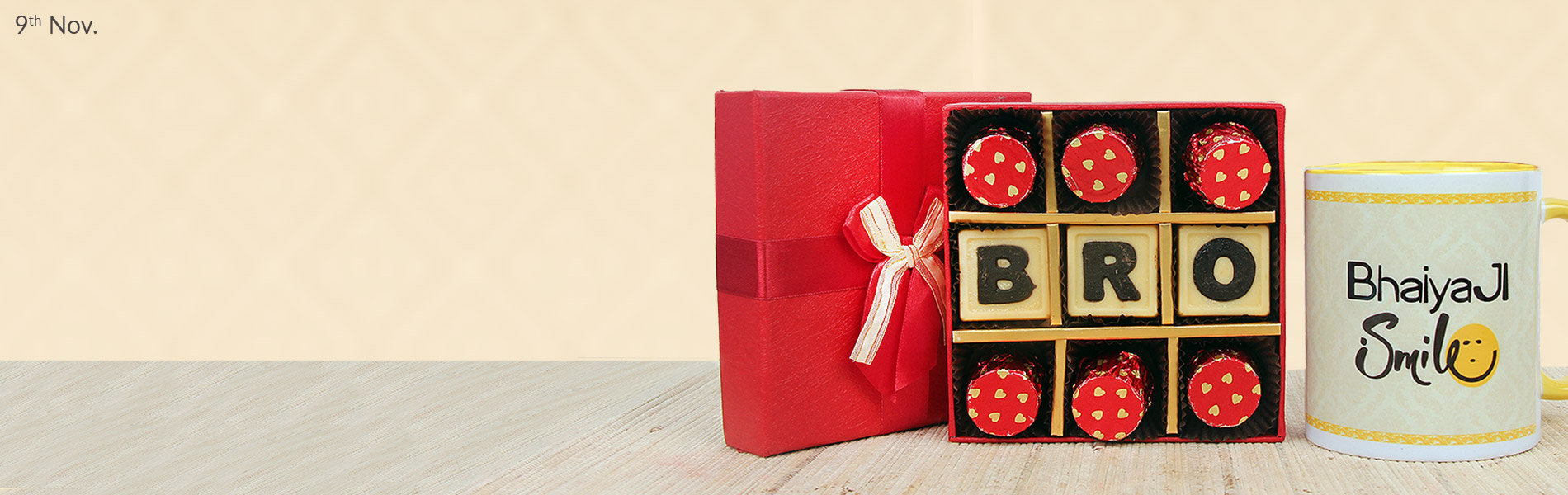 Send Bhai Dooj Gifts For Brother
