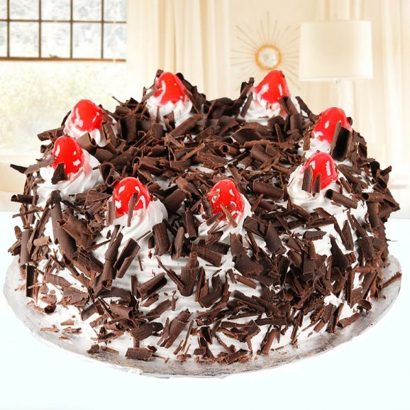Zestful Black Forest Cake