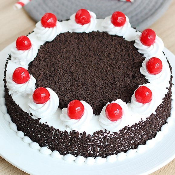 Black Forest Cake - Zoom View