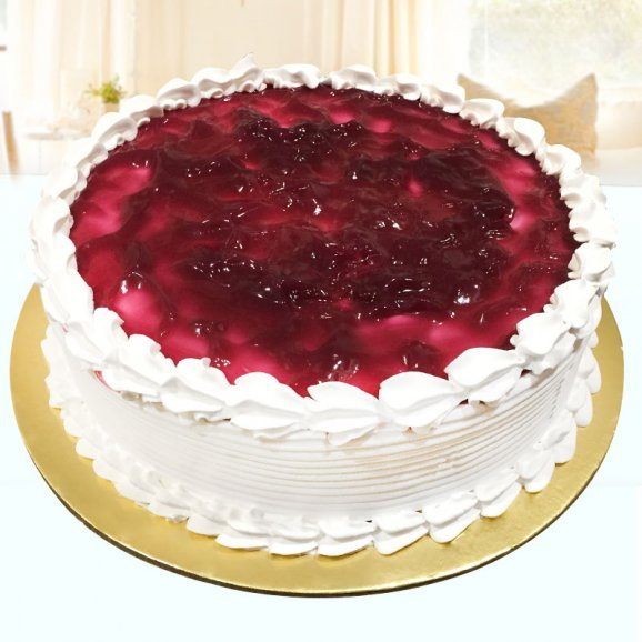 Blueberry Cream Cake 1/2 Kg