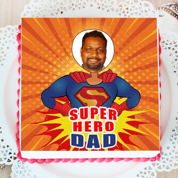 Dad Day Photo Cakes Online