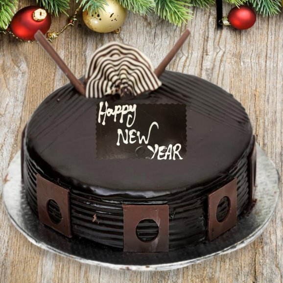 Enjoy New Year Cake