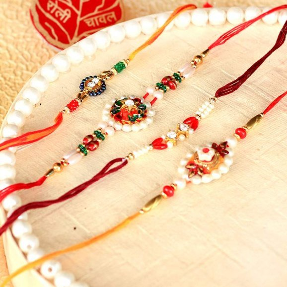 Fantastic Four Rakhi Set for brother and his family