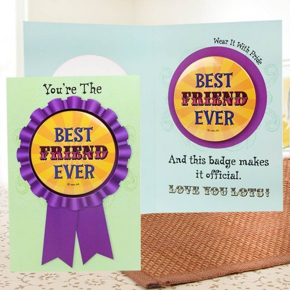 Forever In My Heart Card for Friend