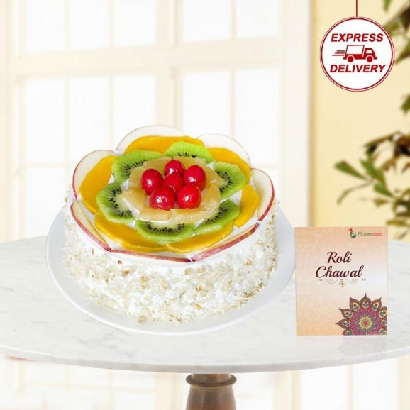 Fruit Cake for bhai dooj