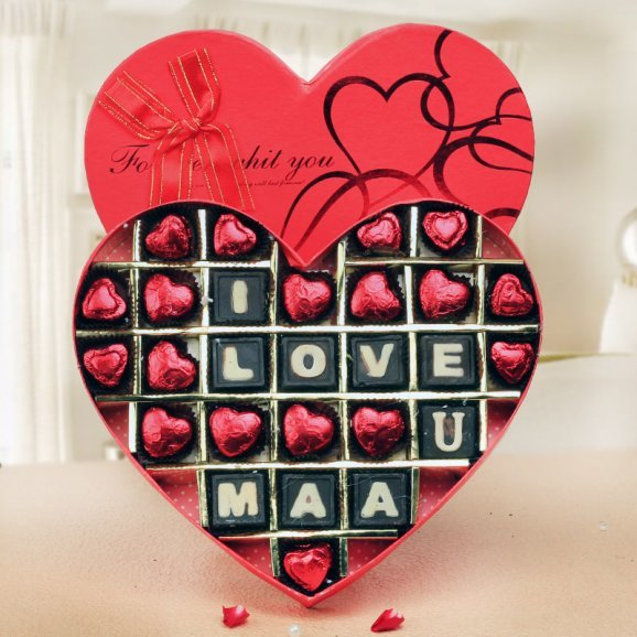 handmade expressions - A Chocolate box for mother