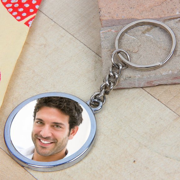Keychain Of Love - A Keychain With Photo