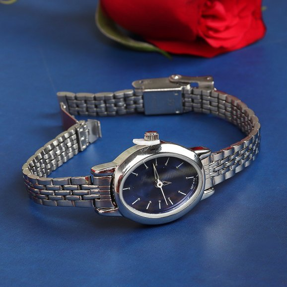 Branded Watch with Chain