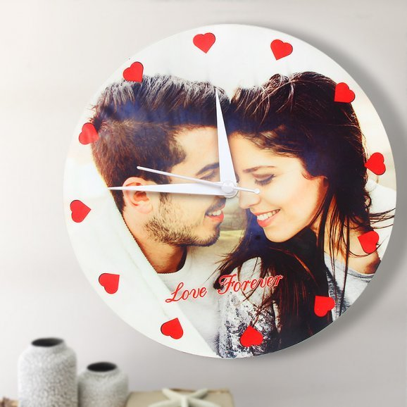 Personalised Wall Clock for Couple