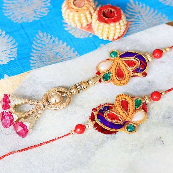 Aesthetic Delight Rakhi