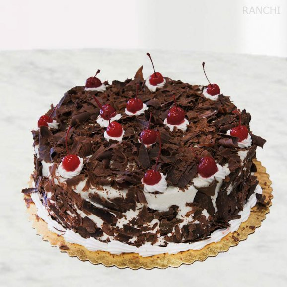 German black forest 1/2 kg cake delivery in Ranchi