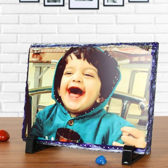 The Perfect Moment - A Customised Photo Frame with Front View