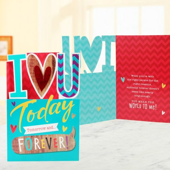 Today Tomorrow and Forever Card
