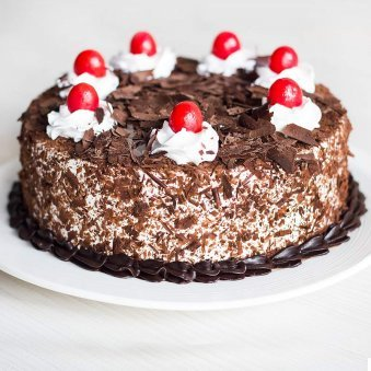 Choco Black Forest Fresh whipped creamy - for online delivery in Gurgaon