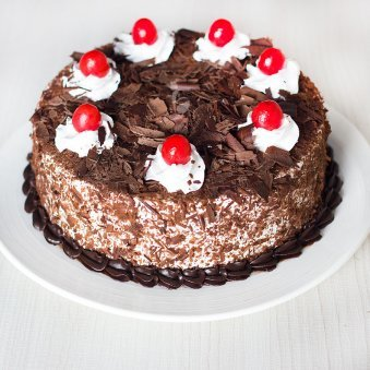 Dark Black Forest Cake