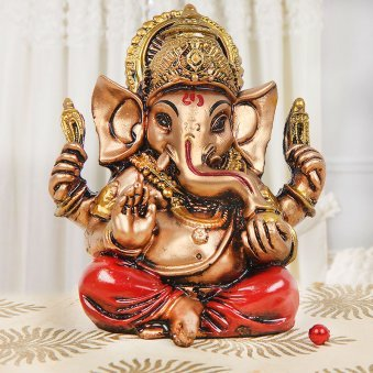 Lord Ganesha God Idol for Wishing Good Health