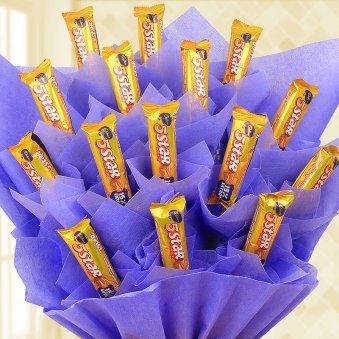 Zoom view of Twinkle choco bouquet