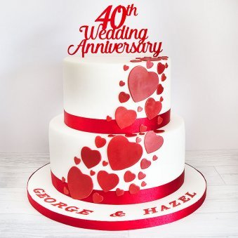 50 Happy 9th Wedding Anniversary Cake Images Quoteambition