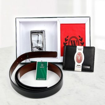 Belt and Wallet Combo
