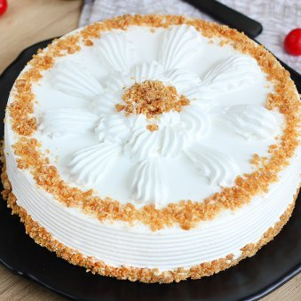 Luscious Butterscotch Cake - Zoom View