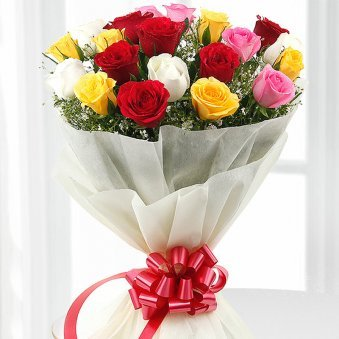 20 Mix Roses Bouquet