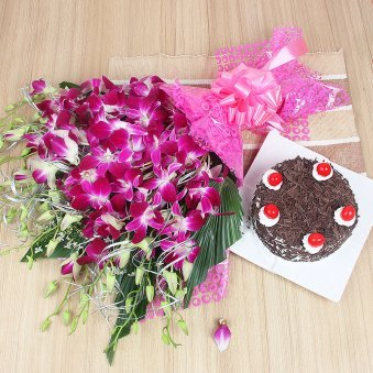 Midnight Delivery Cake Flowers And Gifts Late Night Birthday Cake