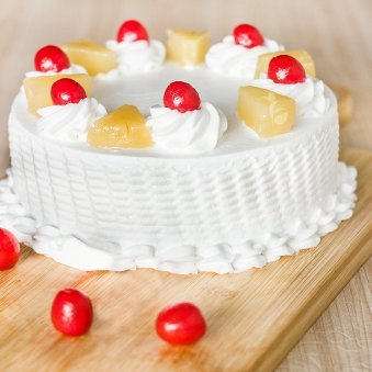 Pineapple Cake For Any Celebration - for online delivery in Bangalore