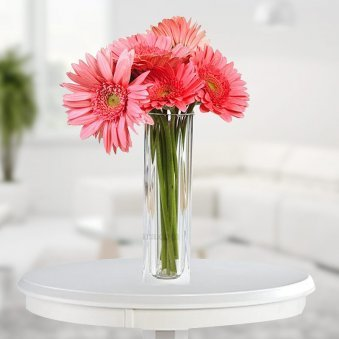 Buy Flowers Online With Glass Vase