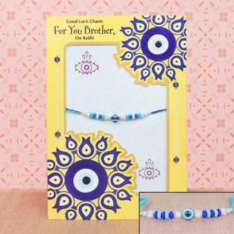 Rakhi and Greeting Card Combo for Brother