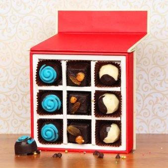 Handmade Chocolates in A Box