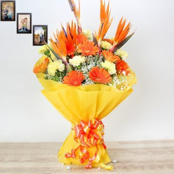 24 Mixed Flowers Bouquet