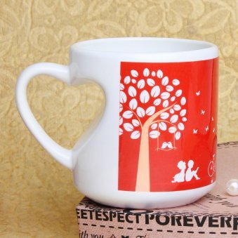 Promising You Forever Printed Mug with Back Sided View