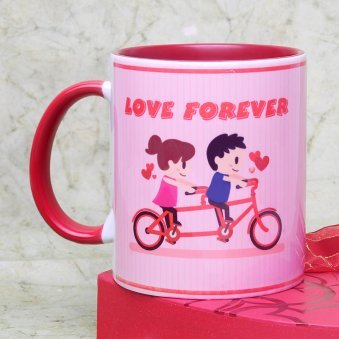 Truly Deeply Madly Love Mug with Back View
