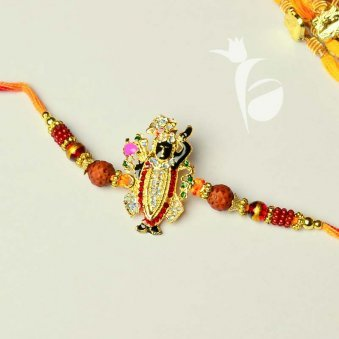 Baanke Bihari Divine Rakhi for Brother