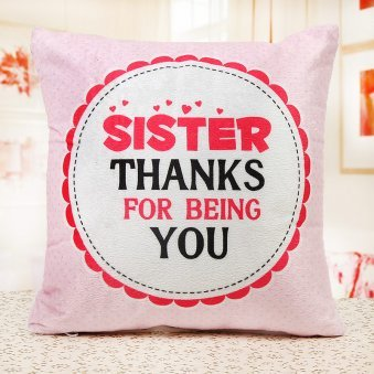 A Big Thanks to Sister Cushion