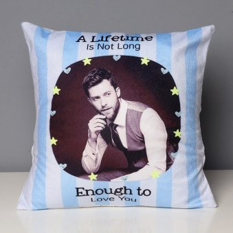 A Lifetime Of Love Printed Personalised Cushion