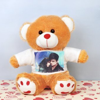 Personalised Photo Teddy