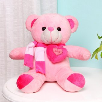 Pink Love Teddy