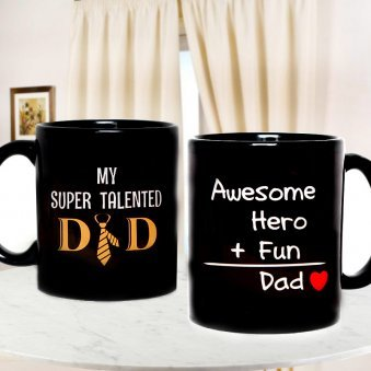 Awesome Dad Recipe Mug with Both Sided View