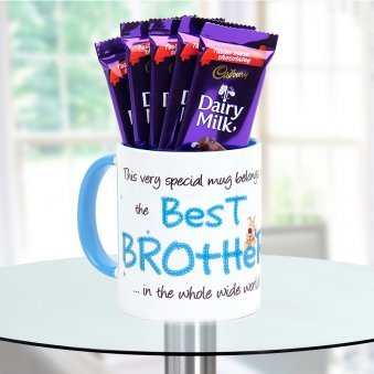 Gift best brother mug to your brother