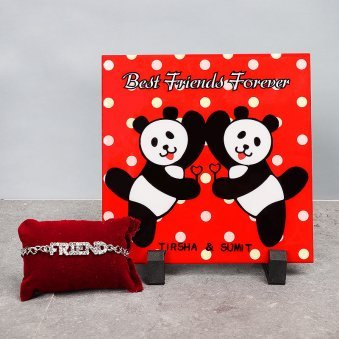 Table Top and Friendship Band Gift Combo
