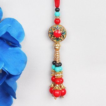 Charming Lumba Rakhi for Bhabhi