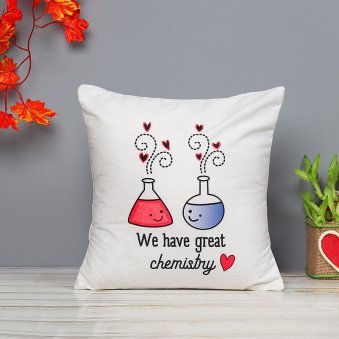 Great Chemistry Emojis Cushion