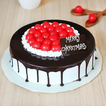 Choco Cherry Treat For Christmas Celebration