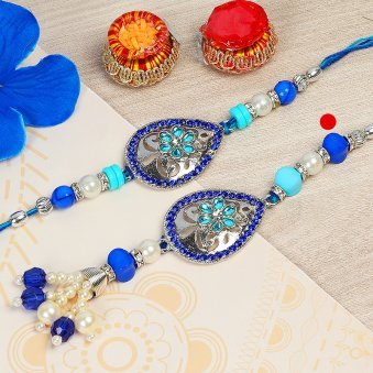 Colourful Fondness Rakhi