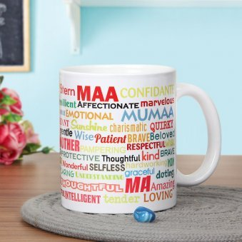 Define Her Mug - A Printed Mug Gift For Mother with Front Sided View