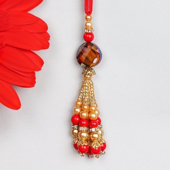 Colorful Lumba Rakhi for Bhabhi
