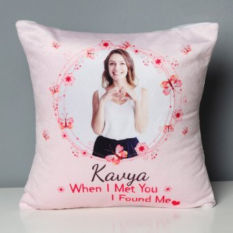 Personalised Printed Cushion for Your Loved One