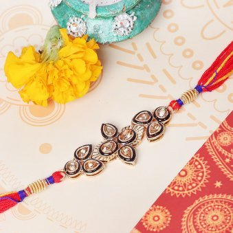 Floral Preciousness Rakhi for Bro