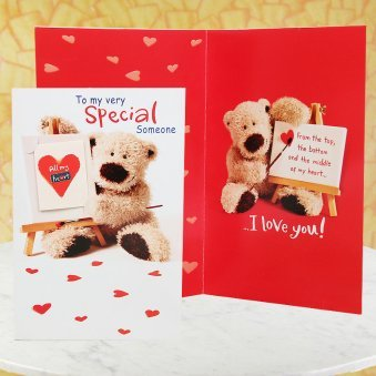 Special Someone Card with Opened View